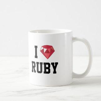I Heart Ruby Geek Mug