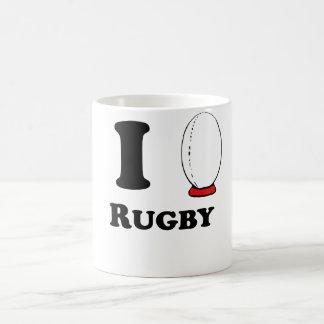 I Heart Rugby Coffee Mug