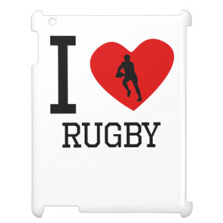 I Heart Rugby iPad Case