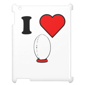 I Heart Rugby Case For The iPad