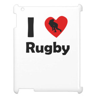 I Heart Rugby iPad Cover