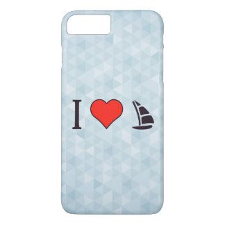 I Heart Sailing iPhone 7 Plus Case