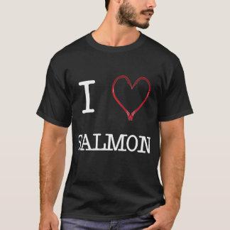 I [Heart] Salmon Shirt DARK