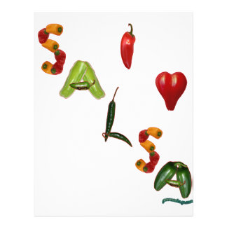 I Heart Salsa Flyer Design