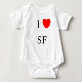 I heart San Francisco Baby Bodysuit