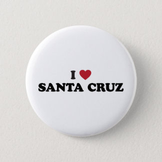 I Heart Santa Cruz 2 Inch Round Button