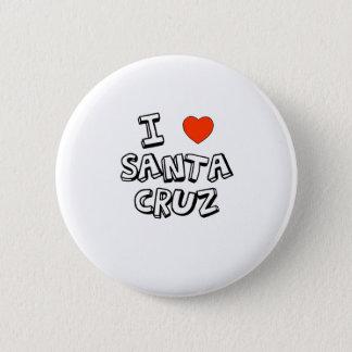 I Heart Santa Cruz 2 Inch Round Button