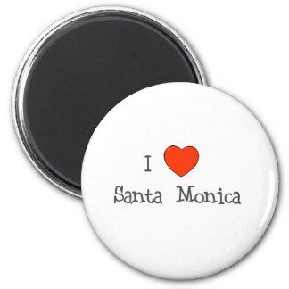 I Heart Santa Monica Magnet