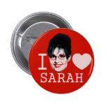 I Heart Sarah Palin 2 Inch Round Button