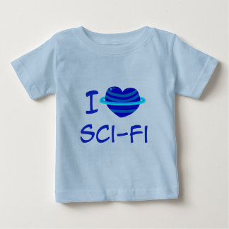 I Heart Sci-Fi Infant T-Shirt
