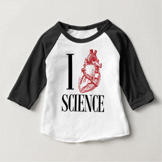I heart science baby T-Shirt