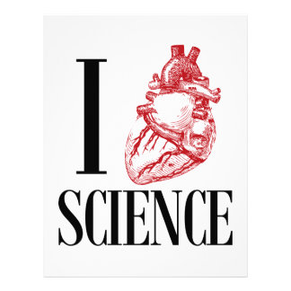 I heart science letterhead