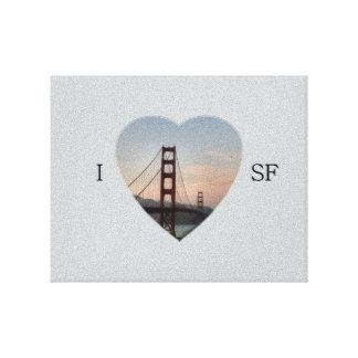 I Heart SF Canvas Prints