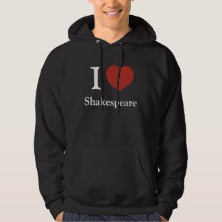 I Heart Shakespeare (Hooded Dark) Hoodie