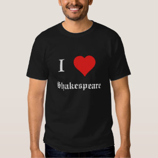 I Heart Shakespeare T-shirt