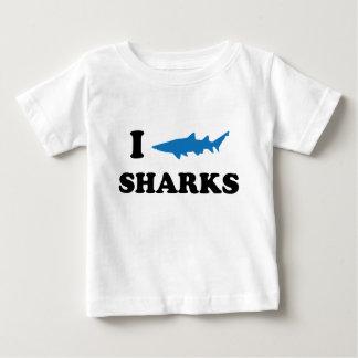 I Heart Sharks Shirt