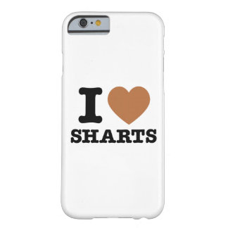 I Heart Sharts Funny Icon Graphic iPhone 6 Case