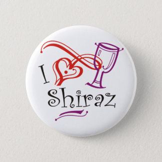 I Heart Shiraz 2 Inch Round Button