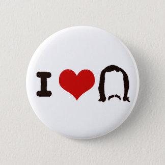 I Heart Silhouette 2 Inch Round Button