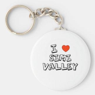 I Heart Simi Valley Keychain