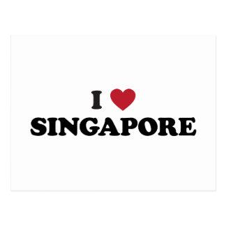 I Heart Singapore Postcard