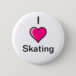 I Heart Skating Button