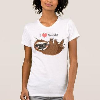I Heart Sloths Baby Animals T Shirt