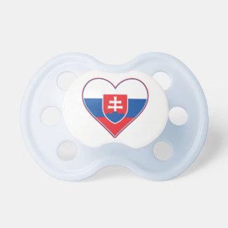 I Heart Slovakia Pacifier