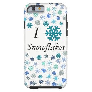 I Heart Snowflakes Tough iPhone 6 Case