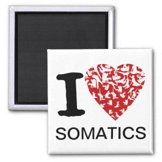 I Heart Somatics Magnet | Red Heart