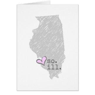 i heart southern illinois card
