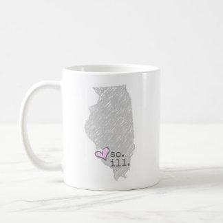 i heart southern illinois coffee mug