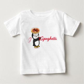 I Heart Spaghetti Baby T-Shirt