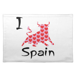 I heart Spain Placemat
