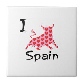 I heart Spain Tile