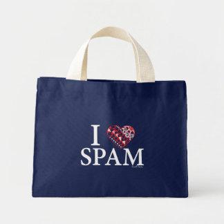 I Heart SPAM Mini Tote Bag