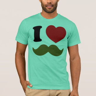 I Heart Stache T-Shirt