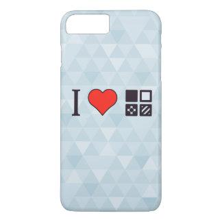 I Heart Studying Geometry iPhone 7 Plus Case