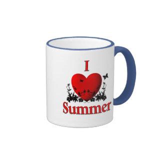 I Heart Summer Ringer Mug