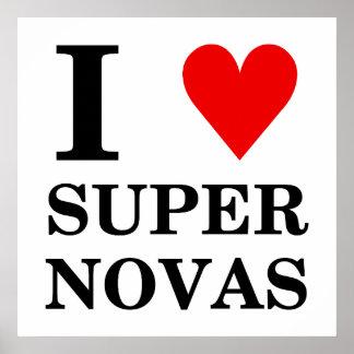 I (heart) SuperNovas Poster