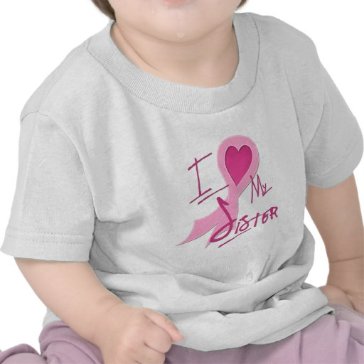 I Heart/Support My Sister Tees