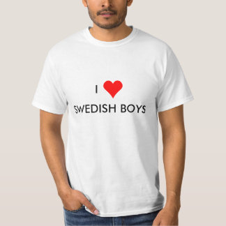 i heart swedish boys T-Shirt