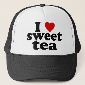 I Heart Sweet Tea Trucker Hat