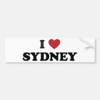 I Heart Sydney Australia Bumper Sticker