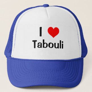 I Heart Tabouli Trucker Hat