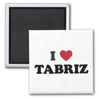 I Heart Tabriz Iran Magnet