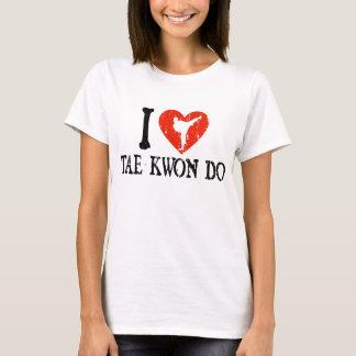 I Heart Tae Kwon Do - Girl T-Shirt
