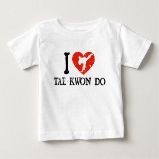 I Heart Tae Kwon Do - Guy 1 Baby T-Shirt