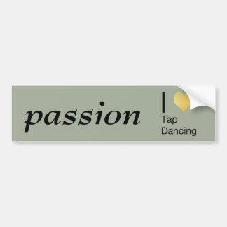 I Heart Tap Dancing Bumper Sticker