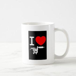 i heart tattoo products coffee mug